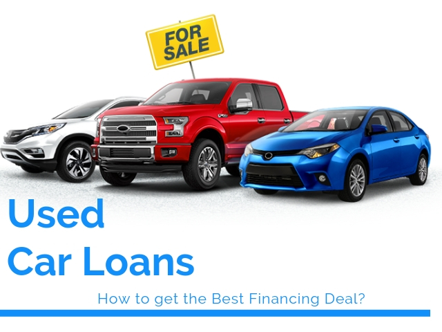 Get the best Deals on Used Car Financing
