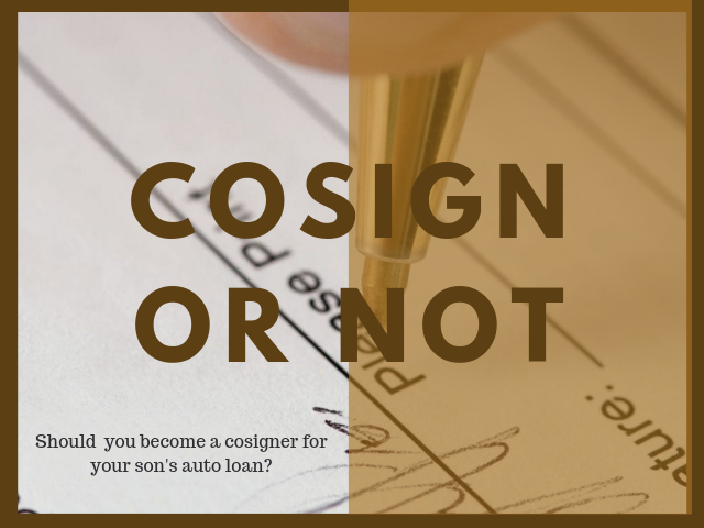 Learn What are the Risks of Cosigning a Car Loan