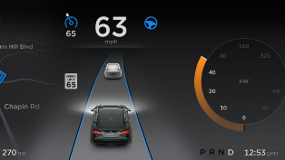 Tesla Auto Pilot Mode
